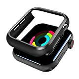 SPORTLINK Apple Watch Custodia, Rugged Armor Bumper per iWatch Apple Watch Series 6 / SE/Series 5 / Series 4 40mm Cover Case (2 Pezzi - Nero)