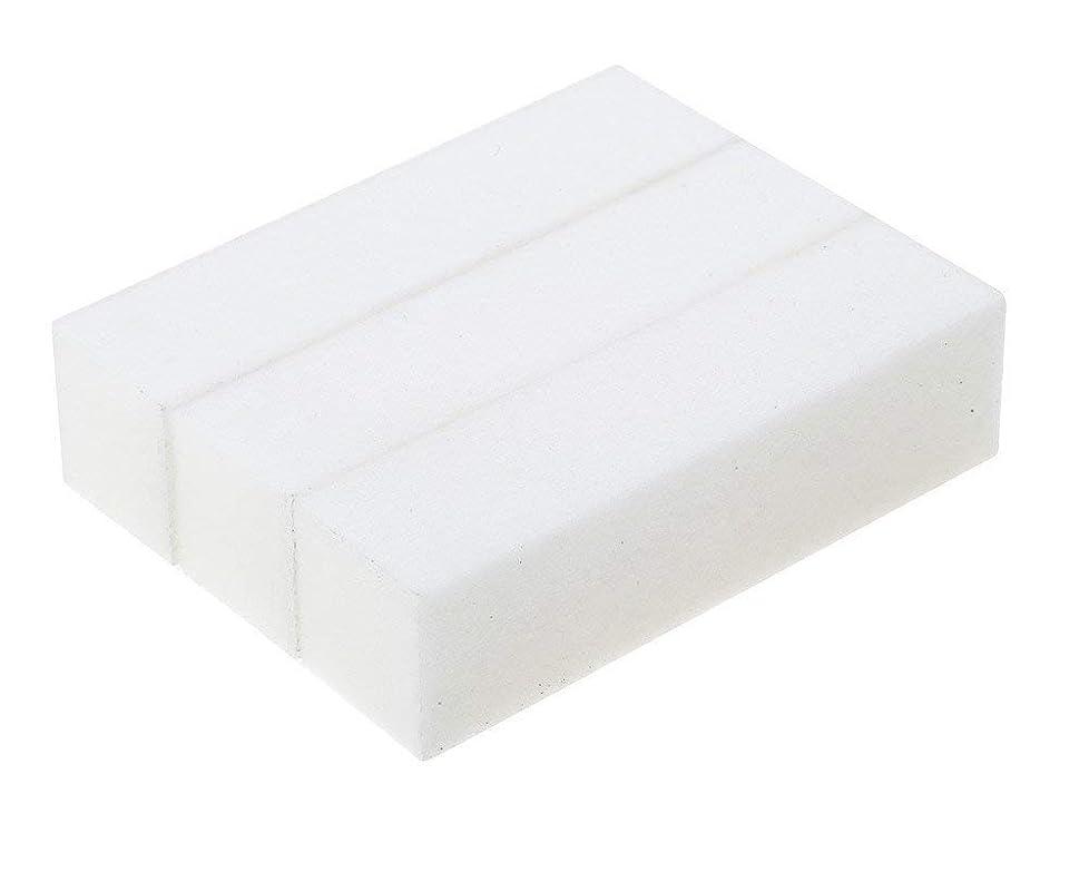故意の不愉快に付き添い人3スポンジ/サンディングブロックマニキュアペディキュアプロフェッショナル高品質ポンスホワイトストーンのセット