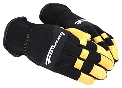 Forney Pigskin Leather Driver Premium Stretchable Men's Gloves