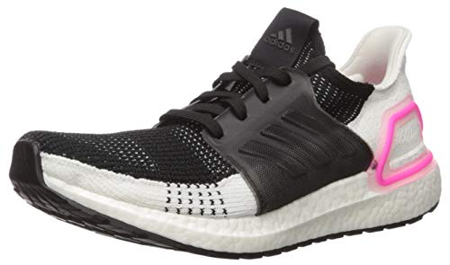 adidas Women's Ultraboost 19 w Running Shoe, Core Black/Core Black/FTWR White, 8.5 UK