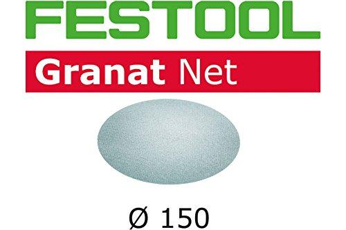 Festool 203305 STF D150 P150 GR schuurmiddel, staal, grijs, set van 50 stuks