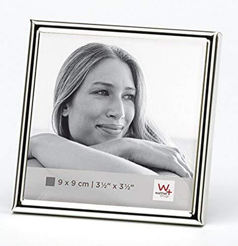 Walther design WD099S Chloe Portraitrahmen 9x9 cm, silber