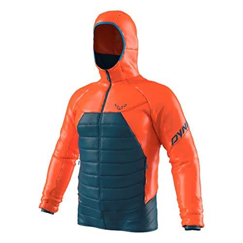 DYNAFIT M Radical 3 Primaloft Hooded Jacket Colorblock-Blau-Orange, Herren Primaloft...