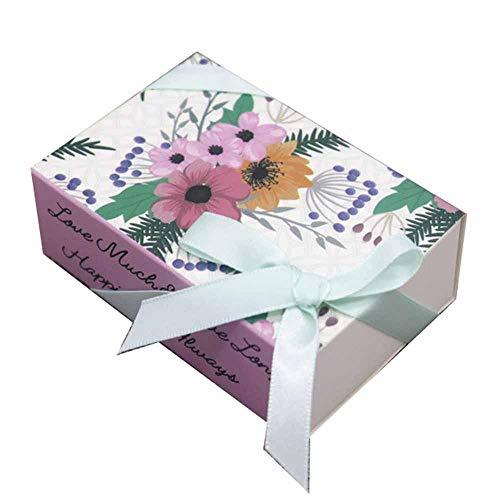 Geschenkdoos BLTLYX 8.4 * 5.8 * 3cm Cadeau voor jou Doos met lint Gedrukt Geschenkdoos Diy Handgemaakte liefde Bruiloft gunst Geschenk Zeepkist 20st doos als foto 13