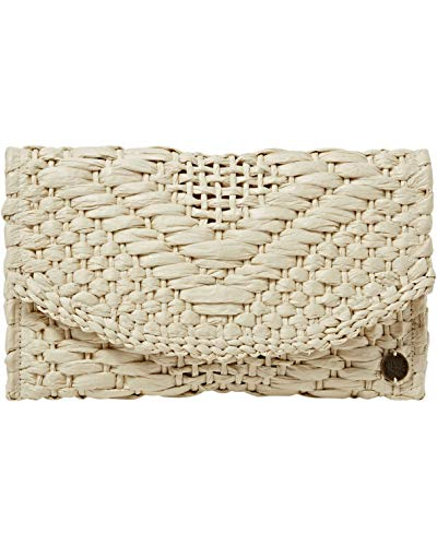 Billabong Women's Caught Up Straw Clutch Backpacks, Natural, One Size