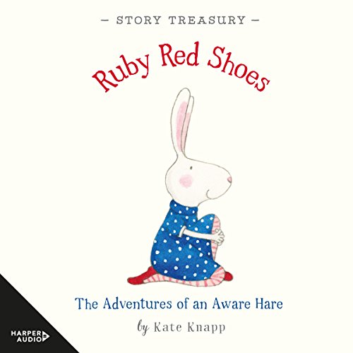 Ruby Red Shoes Story Treasury audiobook cover art
