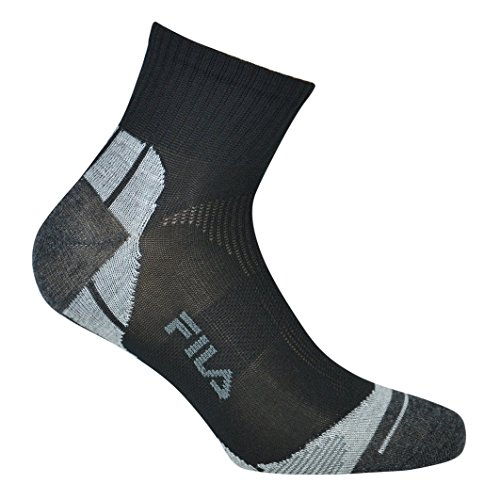 Fila F1615, Socken Uni, schwarz, 35/38