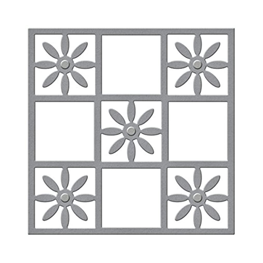 Spellbinders Flower Tile Etched/Wafer Thin Dies