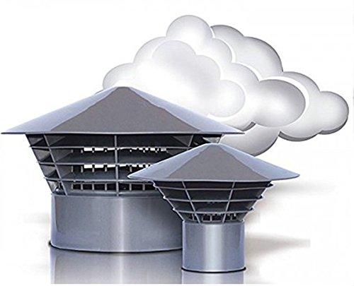 Ventilación Campana campanas sombrero techo entlüfter univent DN 5050mm en tubo