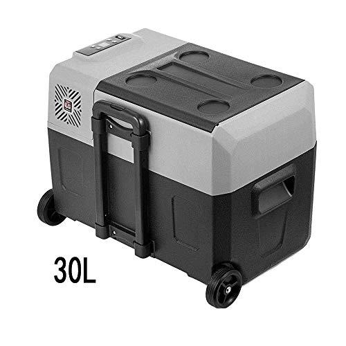 JNWEIYU 30L Auto Kühlschrank, Auto-Haus Dual-Use-Kompressor, Kältetechnik Auto-Kühlraum, bewegliche Kleiner Mini-Kühlschrank