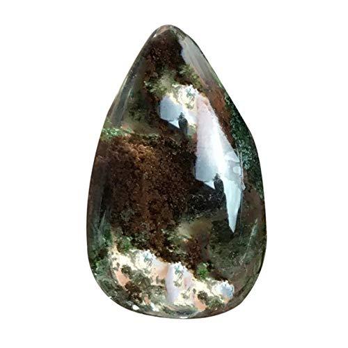 likeitwell Natürlicher Quarzkristall Ghost PhantomQuarzEdelstein Natürlicher FluoritHeilstein für Anhänger und die Herstellung von Kunsthandwerk agreeable