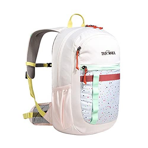 Tatonka Kinderrucksack City Pack JR 12 - Rucksack für Mädchen ab 6 Jahren - Mit Reflexstreifen und inkl. Sitzkissen - 12 Liter - pink