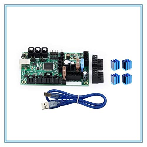L-Yune,bolt 1set Mini-Rambo 1.3a Mainboard DC 10-28V With USB Cable For Prusa I3 MK2 MK2S 3d Printer