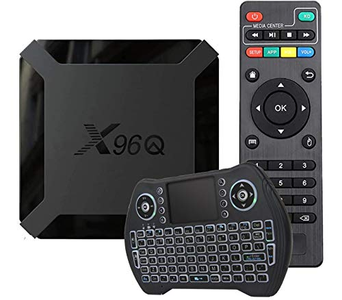 Android 10.0 TV Box X96Q with Keypad 2GB RAM 16GB ROM Smart TV Box...