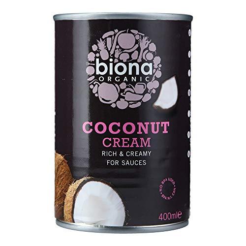 Biona Nata De Coco Ecológica Líquida 80% Coco - Vegetariano, Vegano, Paleo - 400 ml