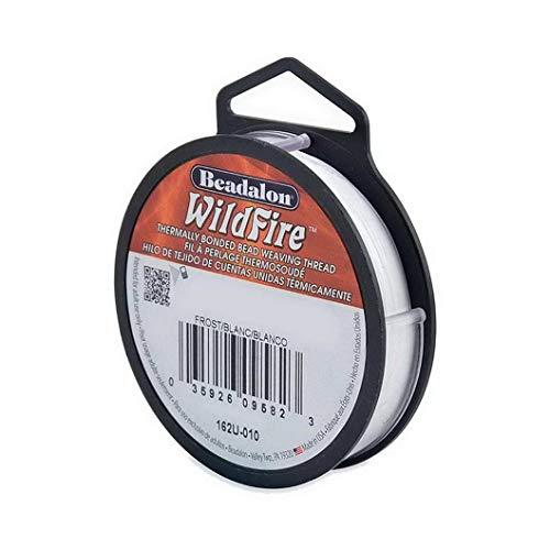 Wildfire Beadalon rijgaren, 0,15 mm, 18,3 m, kralen oprijgen, zelf maken van sieraden, ketting, armband, scheurbestendig…