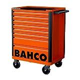 BAHCO BH1472K8 Carro E72 26' 8 CAJ Naranja, Standard