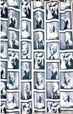 [Neustadt] オシャレ モノトーン マリリン モンロー プリント シャワーカーテンの写真