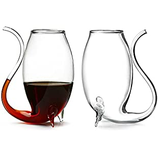 Port Sippers - Set of 2 | Gift Boxed Port Glasses, Brandy Sippers, Sipper Glasses