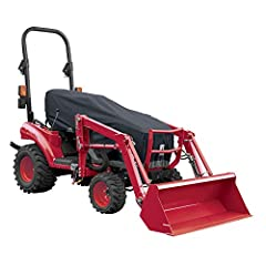 """Fits compact utility tractors seatback to cowling front up to 79"""" L Four-year limited warranty Reflective piping on air vents for safer night-time visibility Critically taped seams help keep rain out and your equipment protected Adjustable tension pa..."""
