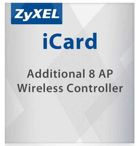 ZYXEL Lizenz E-iCard LIC-EAP 8 AP for Unified Security Gateway and VPN Firewall - all USG/ZYXEL products with AP Controller function