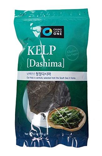 Chung Jung one Dried Seaweed Kelp (Dashima) 5.2oz (150g)
