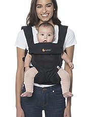 Ergobaby Bärsele upp till 20 kg, 360 Cool Air Mesh Onyx Black 4-positioner Baby och bärsele