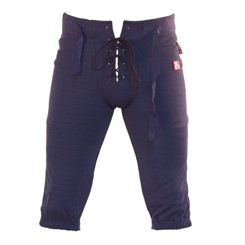 BARNETT FP-2 Pantalon de Football américain us Match Bleu Marine L