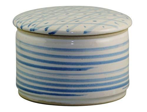 Unbekannt Original Französische Wassergekühlte Keramik Butterdose, Nie Mehr Harte Butter Zum Frühstück, Immer Frische Und Streichfähige Butter, ca 250 g Butter, GR.Raute Z-G