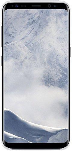 Samsung EF-QG950CSEGWW Clear Hülle (geeignet für Samsung S8), Silber