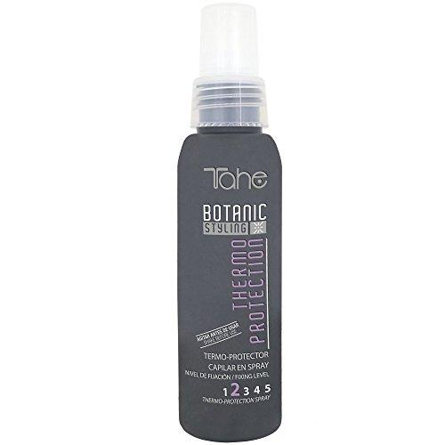 Tahe Botanic Styling Thermo Protection Spray Termo-Protector Ideal para Proteger del Uso de Planchas y Secadores, Fijación 2, 100 ml