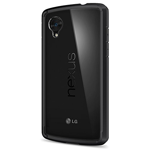 Spigen Ultra Hybrid Nexus 5 Case with Air Cushion Technology and Hybrid Drop Protection for Nexus 5 - Black