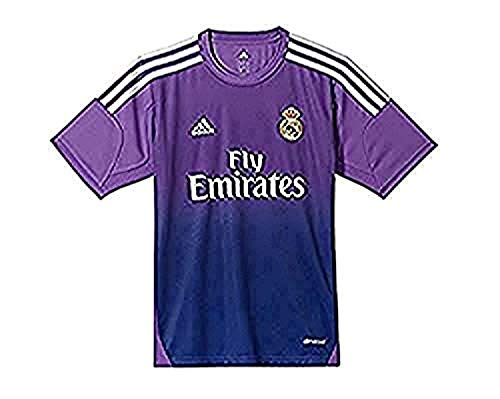 adidas Portero Real Madrid 13-14 Niño, Camiseta, Morada, Talla 164