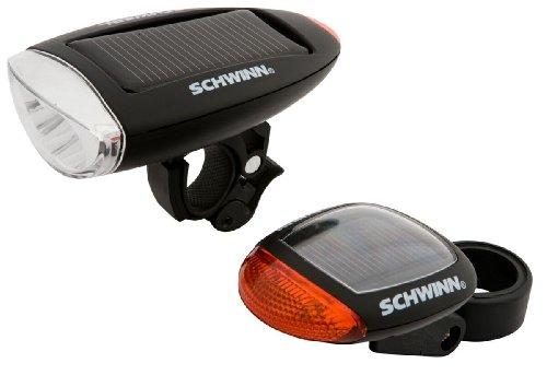 Schwinn LED Bike Light Accessories Headlight and Tail light Mounted Light