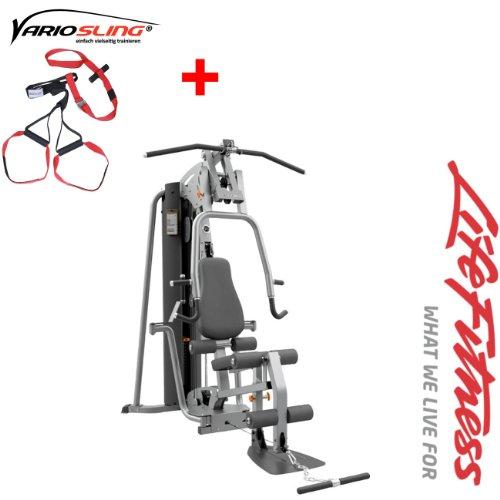 G4 Life Fitness Kraftstation - Modell 13/ 14 - Fitness Turm - inkl. Vario Sling Trainer