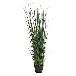 Nearly Natural 4' Grass Artificial Plant Green