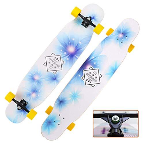 46 Zoll Freestyle Longboard Skateboard Komplett Cruiser Decks Doppel Kick-Tricks Skateboards MXY