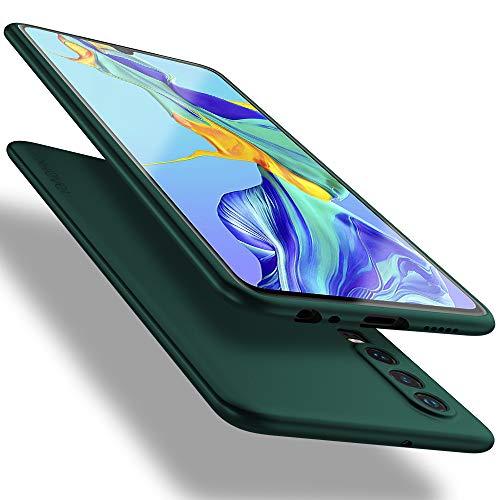 X-level für Huawei P30 Hülle, [Guardian Serie] Soft Flex TPU Hülle Superdünn Handyhülle Silikon Bumper Cover Schutz Tasche Schale Schutzhülle Kompatibel mit Huawei P30 - Grün