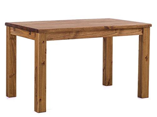 Brasilmoebel® eettafel Rio Classico 120 x 80 cm - massief houten Brasilmöbel Brasil - in 27 maten en 50 kleuren - meer dan 1000 varianten - echt hout met 33 mm doorlopend massieve platen - van duurzame bosbouw - eetkamertafel massief geolied - woonkamer eetkamer keuken kantoormeubel gastronomie tafel vergadertafel houten tafel