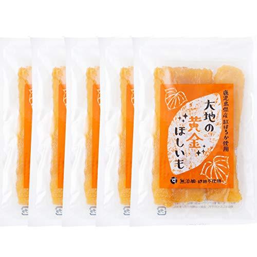 国産 鹿児島県産 紅はるか使用 大地の黄金干し芋 (100g×5) 無添加・砂糖不使用