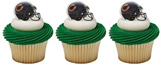 Chicago Bears Cupcake Rings 24 Count