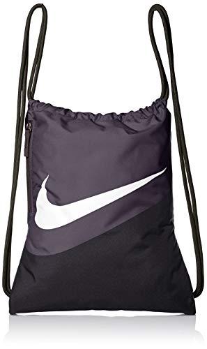 Nike Unisex– Erwachsene Heritage Gmsk - 2.0 GFX Turnbeutel, Black/Thunder Grey/White, OneSize