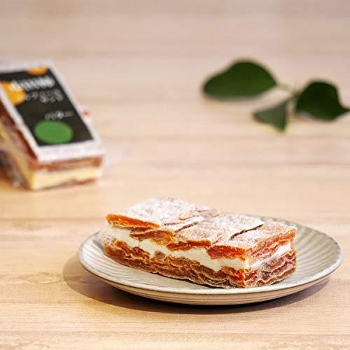 南信州ここだに 市田柿 ミルフィーユ サンド 干し柿 いちだがき 冷凍 スイーツ ( バター )
