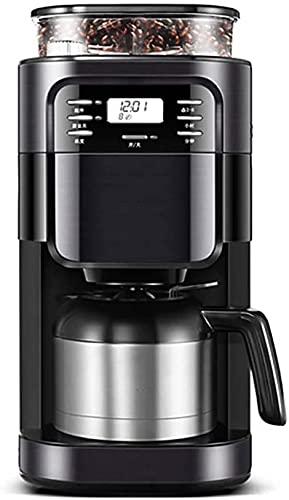 Mantener caliente Maquina de cafe, cafetera con filtro permanente lavable y función Keep Warm 850 vatios 1 litro de capacidad Diseño exclusivo