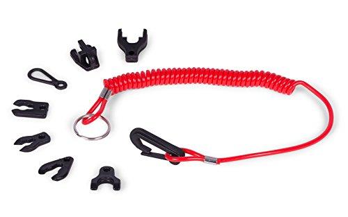 wellenshop Quickstop Notstopschalter Sicherheitsschlüssel Set mit Schlüsselband