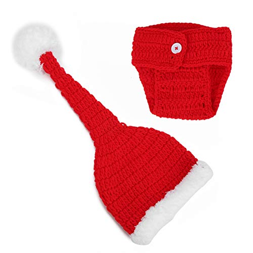 Sombrero suave artesanal Ropa de bebé para bebés de 0-3 meses Lana