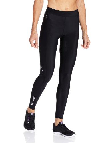 SKINS A200 Collant de Compression Femme Noir/Noir FR : S (Taille Fabricant : FS)