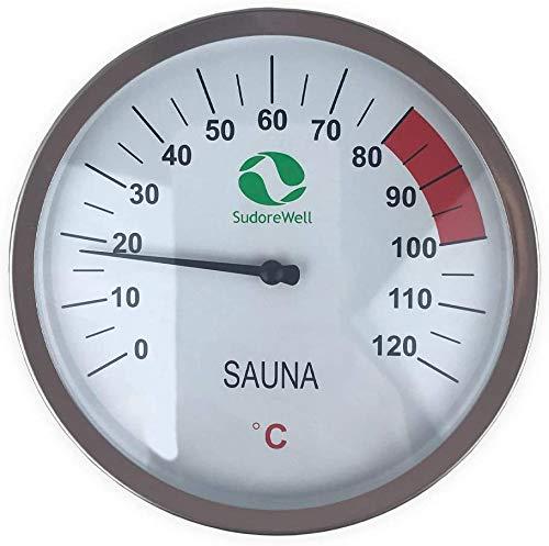 SudoreWell® Sauna Thermometer Classic Ø125mm