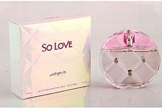Johan B So Love Woman Eau de Parfum 100ml