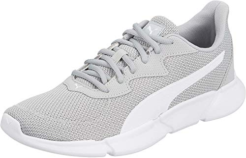 PUMA Unisex INTERFLEX Runner Sneaker, Grau High Rise White, 43 EU